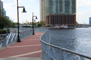 Rebuilt River Walk, offers a nice way to enjoy the St. Johns River
